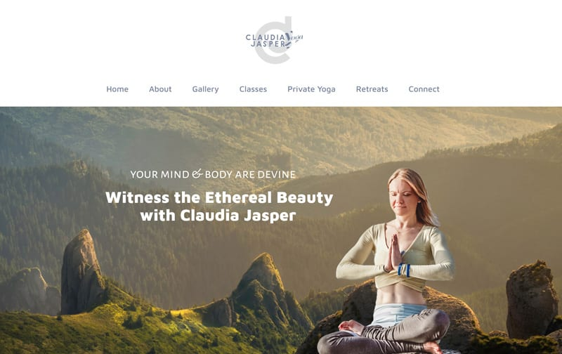 yoga-website-design
